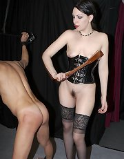 Mistress Danielle corporeal and milking